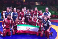 تیم کشتی آزاد نوجوانان ایران