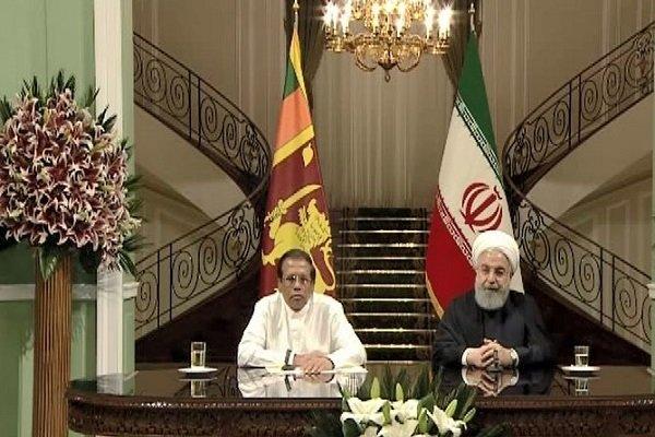 Iran, Sri Lanka presidents call for more economic coop.