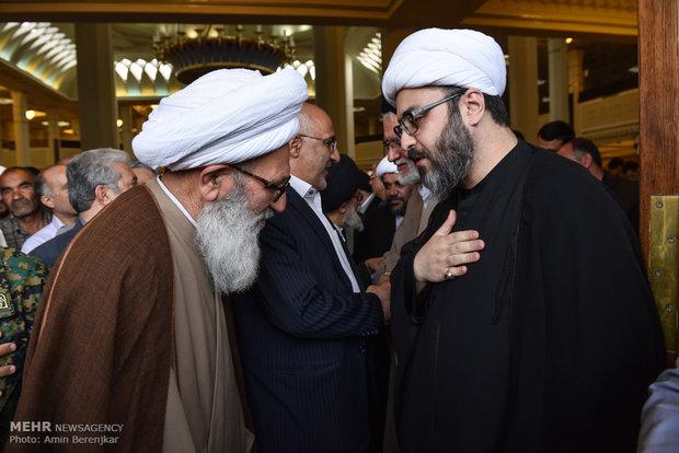 مراسم یادبود مرحوم آیت الله ایمانی در شیراز
