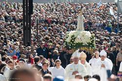 Portekiz'deki Fatima tapınağından kareler