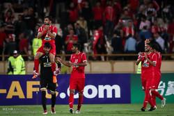 دیدار تیم های پرسپولیس تهران و الجزیره امارات