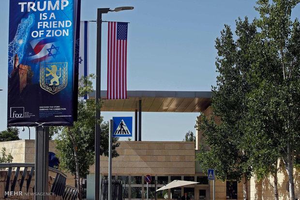 انتقال سفارت آمریکا به بیت المقدس