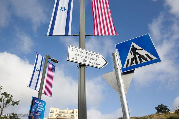 افتتاح سفارت آمریکا به بیت المقدس