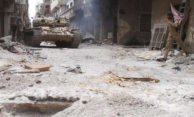 Syrian Army inflicts heavy losses on terrorists in al-Hajar al-Aswad