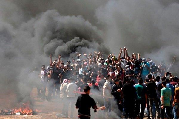"Filistin'de ABD'nin ""Kudüs"" kararına karşı protesto"