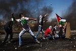استشهاد شاب خلال مسيرات العودة شرق البريج وسط قطاع غزة