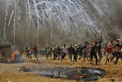 حمله به معترضان فلسطینی در نوار غزه