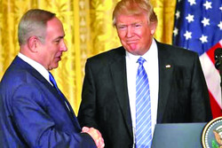 Netanyahu and Donald Trump