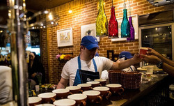 Downtism Café is the first-ever café in Iran run by ten teenagers with autism and Down syndrome