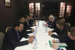 Irans Jaberi Ansari, UN's De Mistura discuss Syria peace