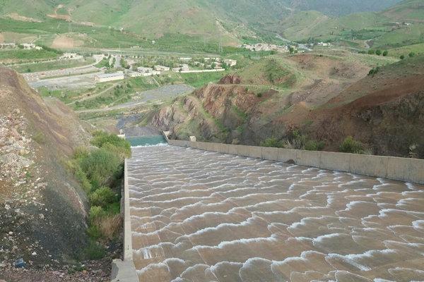 ۶ سد در استان کرمانشاه سر ریز کرد/پرشدن بیش از ۹۸ درصد ظرفیت سدها