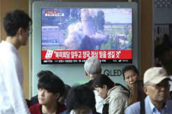 """تدمير مختبر """"بيونغ ري"""" النووي / فيديو"""
