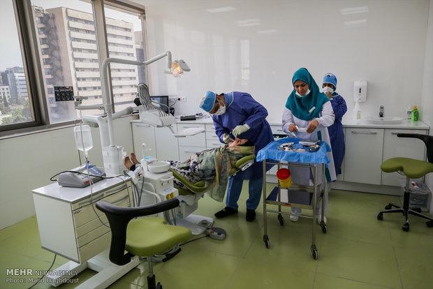 آيين افتتاح اولين بيمارستان تخصصي دندانپزشکي کشور توسط سپاه پاسداران انقلاب اسلامي