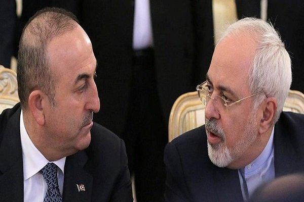 Iranian, Turkish FMs hold phone talks on Palestine