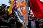 تجمع اعتراضی مردم علیه جنایات رژیم صهیونیستی