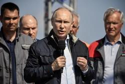 ولادیمیر پوتین رئیس جمهور روسیه
