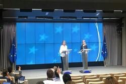 Brüksel'de İran lehine anlaşma bildirisi