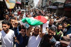 مغربی پٹی میں ایک فلسطینی نوجوان شہید