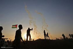 إصابة 56 فلسطينيا برصاص الاحتلال في الجمعة الثامنة لمسيرات العودة