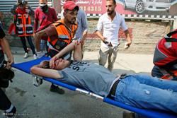 ۶۵ فلسطینی در شرق نوار غزه زخمی شدند