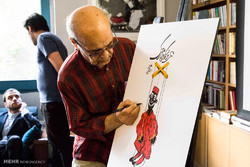 مراسم رونمایی و جشن امضای کتاب عروسکهای متحرک