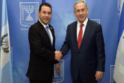 گواتمالا هم سفارت خود را از تل آویو به قدس اشغالی انتقال داد