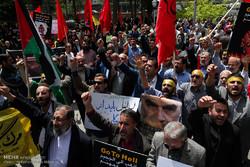 راهپیمایی مردم ایران در محکومیت جنایات رژیم صهیونیستی