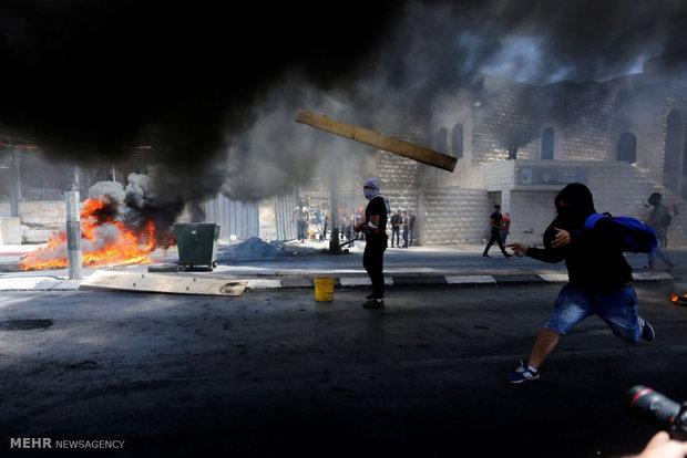 """Fotoğraf: Filistin'de """"Büyük Felaket Günü"""" gösterisi"""