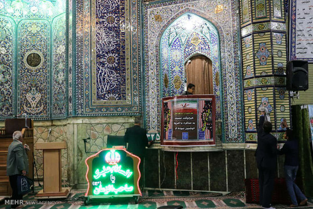مراسم غبارروبی مساجد ورامین