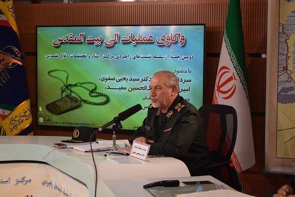 اللواء صفوي: التهديدات الحالية ضد إيران عابرة للحدود