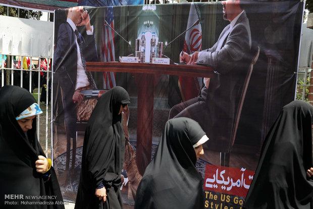 İran'da İsrail karşıtı gösteriler