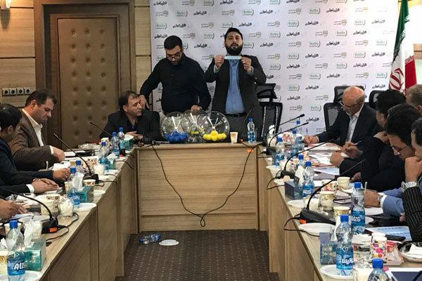 گزارش مهر از اختلافات فوتسالیها در مراسم قرعه کشی لیگ برتر