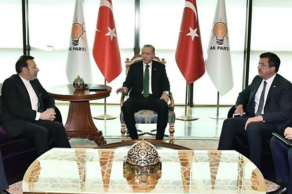 Rouhani's chief of staff meets Turkey's Erdogan in Ankara
