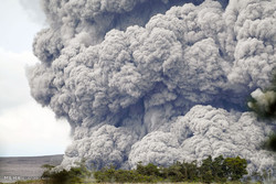 ادامه فوران آتشفشان کیلائو