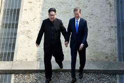 رهبران کره شمالی و جنوبی