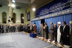 رہبر معظم کی موجودگی میں محفل انس با قرآن