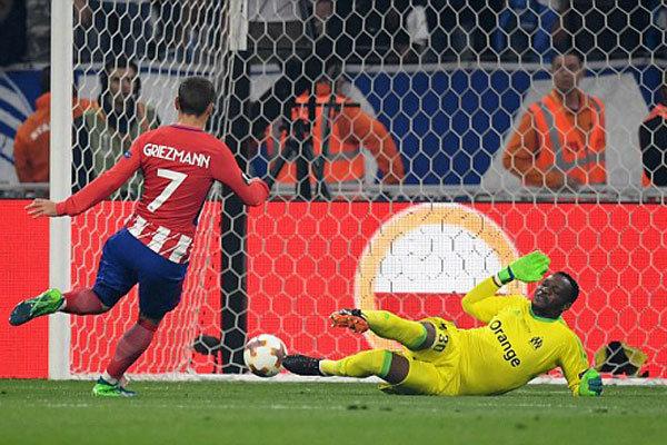 پیروزی قاطعانه اتلتیکو مقابل مارسی/ جشن قهرمانی در خاک فرانسه