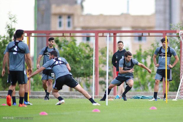 تدريبات المنتخب الوطني الإيراني لكرة القدم