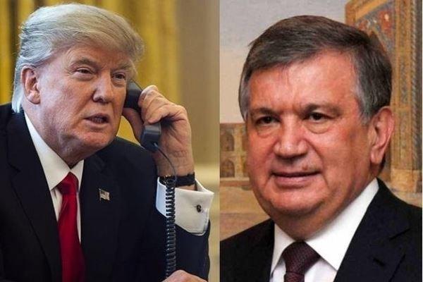 امریکہ اور ازبکستان کے صدور کی ملاقات