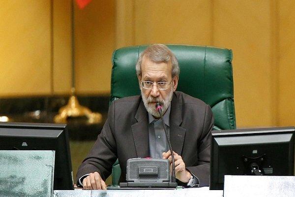 لاريجاني: على الطرفين الرجوع إلى تصويت الشعب إذا يريدان تسوية ديمقراطية للقضية الفلسطينية