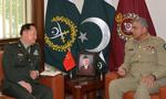 پاکستانی فوج کے سربراہ سے چینی ملٹری کمیشن کے وائس چیئرمین کی ملاقات