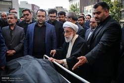 تشییع پیکر مرحوم محمدرضا علیزاده عضو فقید شورای نگهبان