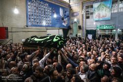 مراسم تشییع پیکر حجتالاسلام سیدمهدی طباطبایی
