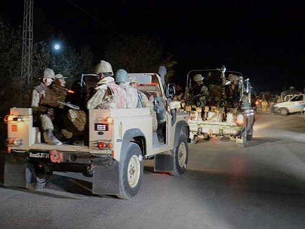 پاکستانی سکیورٹی فورسز نے کوئٹہ میں 5 دہشت گردوں کو ہلاک کردیا