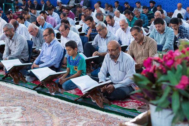 هفتمین دوره ترتیل خوانی نوای ملکوت در حسینیه عاشقان ثار الله شهر بوشهر