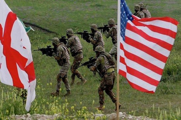 مرکز آموزش نظامی آمریکا در گرجستان افتتاح شد
