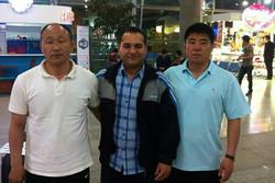 دو مربی جودو از کره شمالی به تهران رسیدند
