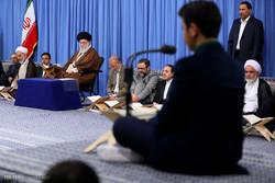 قائد الثورة يستضيف المشاركين في المسابقات القرآنية الدولية