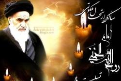 برپایی تجمع مردمی به مناسبت ارتحال حضرت امام در ۱۳ شهر مازندران