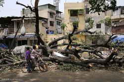 خسارات طوفان های موسمی در جنوب آسیا